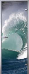 Стеклянная дверь Wave
