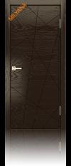 Дверь Мильяна ID N глухая шоколад