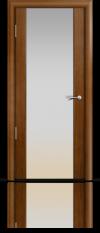 Дверь Мильяна Омега 2 Анегри Белое стекло