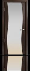 Дверь Мильяна Омега Венге Белое стекло