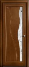 Дверь Мильяна серия Стелла модель Ирэн Палисандр модельное стекло